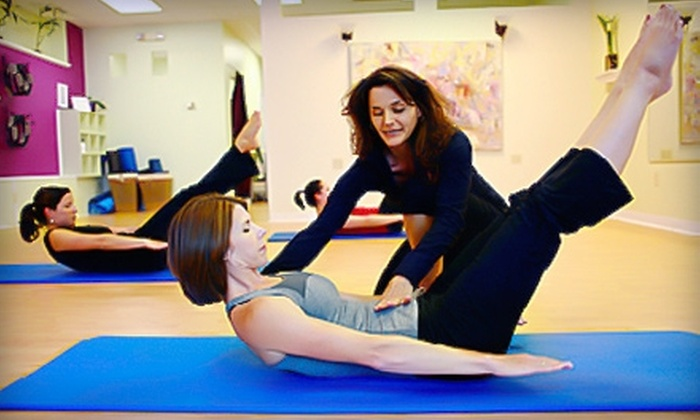 Momentum Pilates Studio - Charlottesville: $30 for a Five-Class Drop-In Punch Card at Momentum Pilates Studio in Charlottesville ($75 Value)