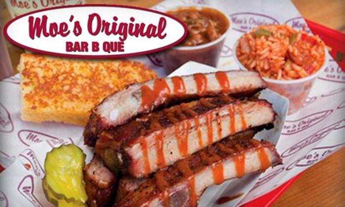 Moe's Original Bar B Que - Daphne: $7 for $14 Worth of Southern Soul Food at Moe's Original Bar B Que in Daphne