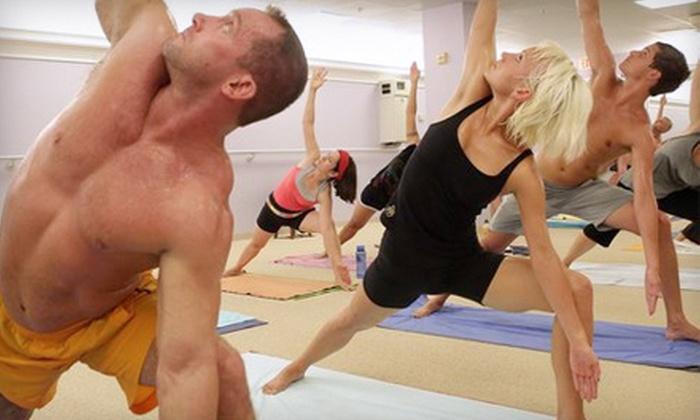Bikram Yoga Shelton - Shelton: $30 for One Month of Unlimited Classes at Bikram Yoga Shelton (Up to $99 Value)