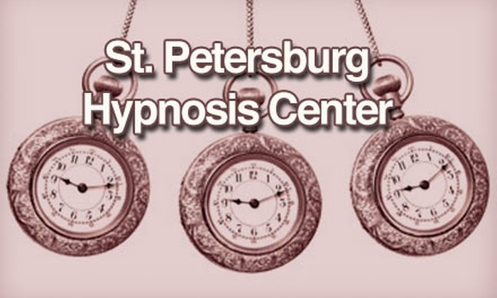 St. Petersburg Hypnosis Center - Tampa Bay Area: $40 for a One-Hour Introductory Hypnosis Session at St. Petersburg Hypnosis Center