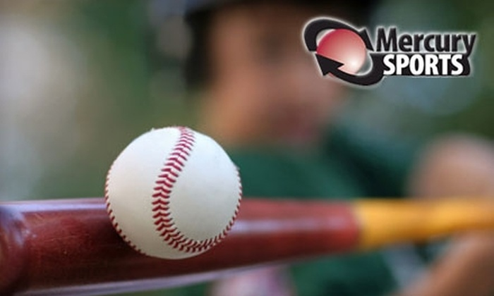 Mercury Sports - Evansville: $20 for $40 Worth of Sporting Goods and Indoor Batting-Cage Use at Mercury Sports