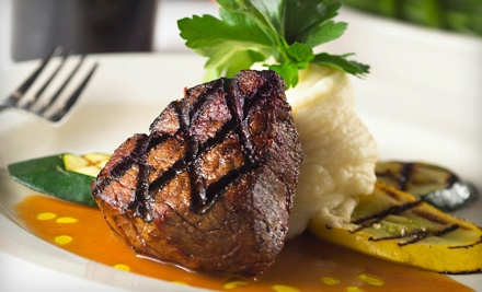 $40 Groupon for Contemporary American Dinner Fare for 2 or More - Rumors Steakhouse in Lee's Summit