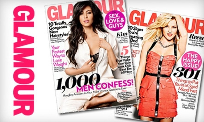 """Glamour"" Magazine - 1: $6 for One-Year Subscription to ""Glamour"" Magazine ($12 Value)"