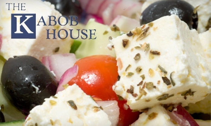 The Kabob House  - Arden - Arcade: $12 for $25 Worth of Greek Cuisine and Drinks at The Kabob House