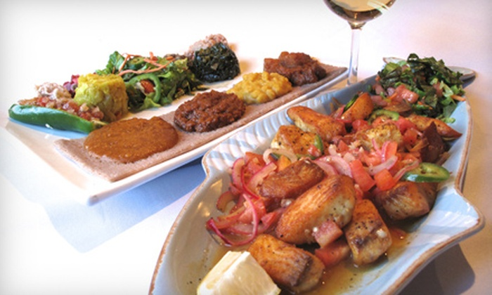 Desta Ethiopian Kitchen - Atlanta: Ethiopian Dinner for Two or Four at Desta Ethiopian Kitchen