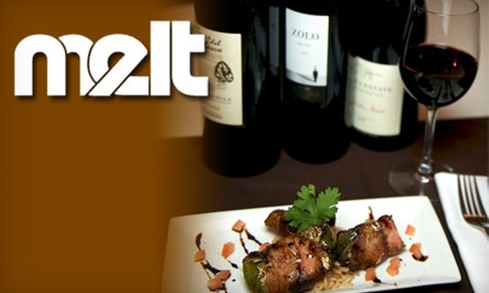 Melt - Park Slope: $20 for Tasting Five Wines Paired with Special Dishes at Melt