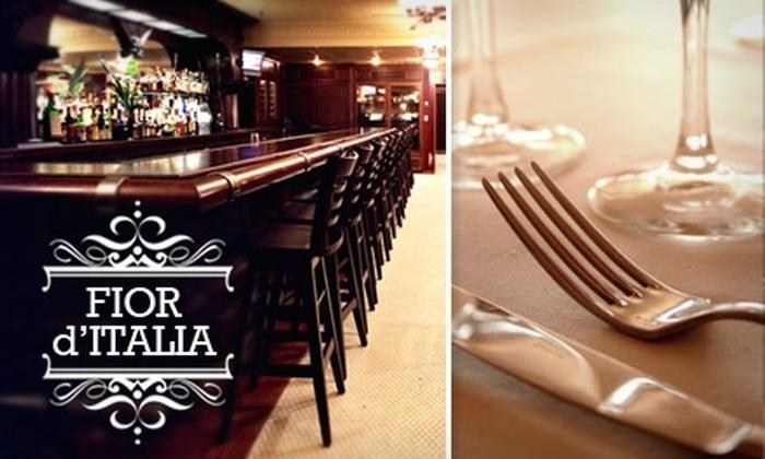 Fior D'Italia - North Beach: $25 for $50 Worth of Traditional Italian Fare and Drinks at Fior d'Italia