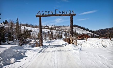 2 Night Stay for Up to Four in a One-Room Cabin - Aspen Canyon Ranch in Parshall