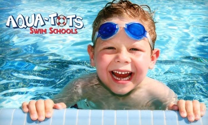 Aqua-Tots Swim School - Multiple Locations: $29 for One Month of Swim Lessons During March or April at Aqua-Tots Swim School ($68 Value)