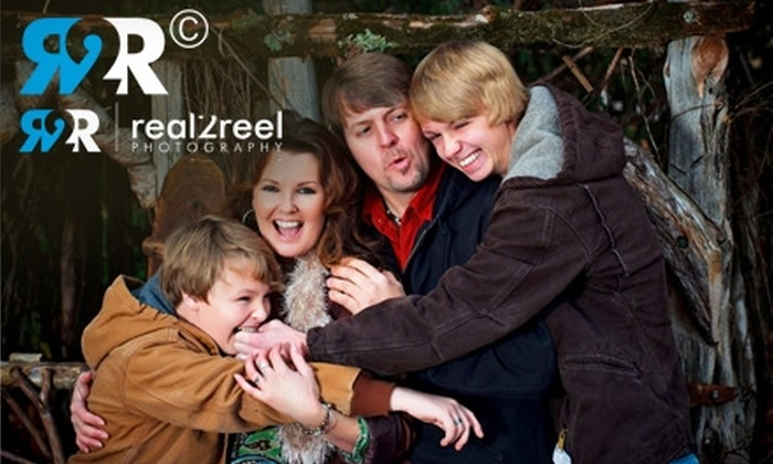 Real2Reel Photography - South Main Historic District Association: $65 for a Family Photo Session and Twenty-Five 5x7 Holiday Cards at real2reel Photography