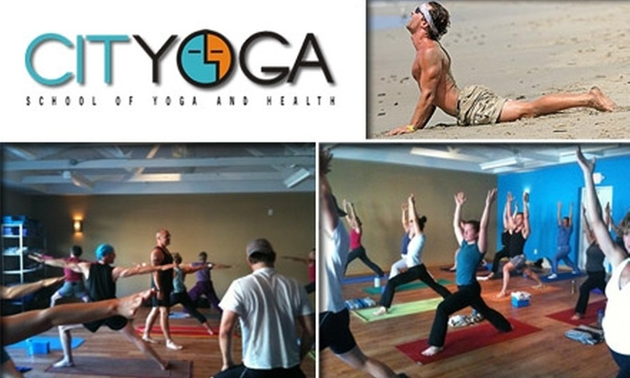 CITYOGA  - Central Indianapolis: $22 for Three Yoga Classes and Mat Rental at CITYOGA