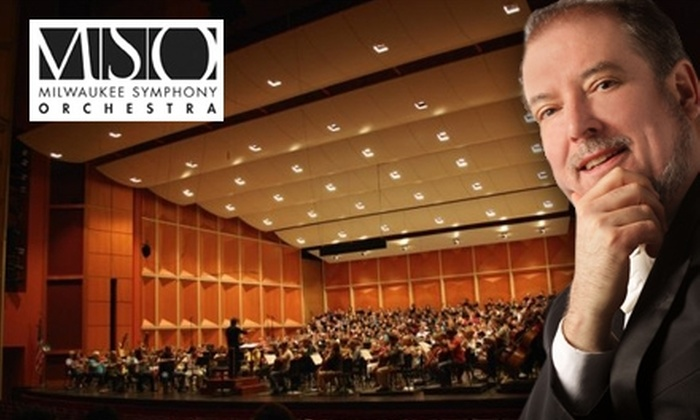 "Milwaukee Symphony Orchestra - Juneau Town: $20 Premium Orchestra Ticket to Milwaukee Symphony Orchestra's ""Ohlsson Plays Chopin"" at Uihlein Hall ($57 Value). Buy Here for Saturday, April 3, at 8 p.m. See Below for Additional Date."