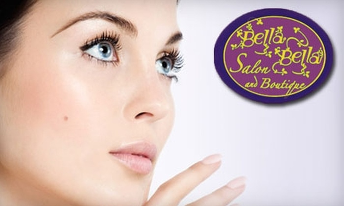 Bella Bella Salon and Boutique - Encinitas: $99 for a Spa Package including Deep Conditioning and Style for Hair, Mani-Pedi, 60-Minute Signature Facial, and Make-up Application at Bella Bella Salon and Boutique in Encinitas ($224 value)