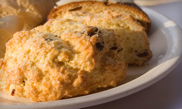 Elwin & Company - Downtown Berkley: One Dozen Demi-Scones and Two Coffees or $5 for $10 Worth of Baked Goods at Elwin & Company in Berkley