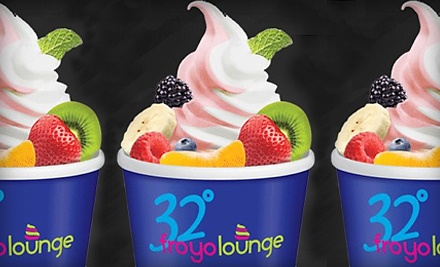 $25 Groupon to 32 Degree FroYo - 32 Degree FroYo in Great Neck