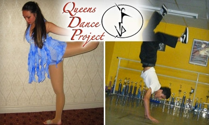 Queens Dance Project - Auburndale: $30 for a Six-Class Dance Fitness Punch Card at Queens Dance Project ($60 Value)