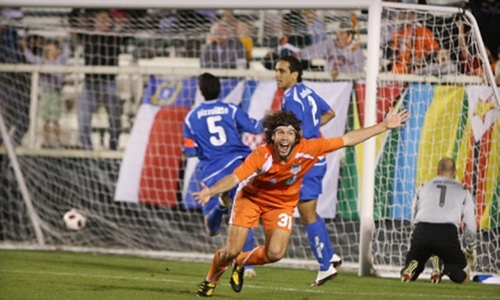 Carolina RailHawks - Cary: $15 for Two Premium Sideline Tickets to Any Carolina RailHawks Regular-Season Home Soccer Game in Cary ($30 Value)