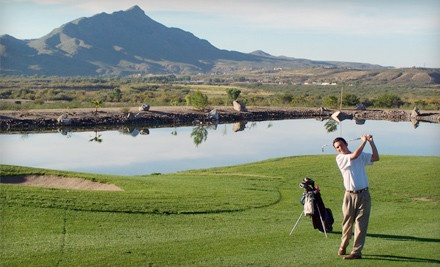 Round of Golf for 2, Including Cart Rental - Sierra Del Rio Golf Course at Turtleback Mountain Resort in Elephant Butte