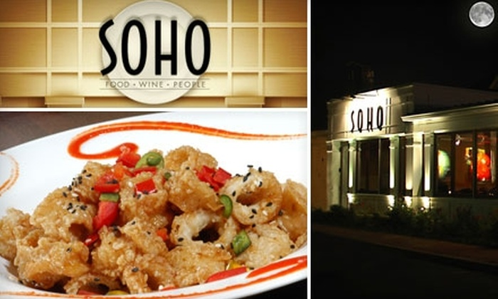 SOHO - Vinings: $20 for $40 Worth of Eclectic American Fare at SOHO
