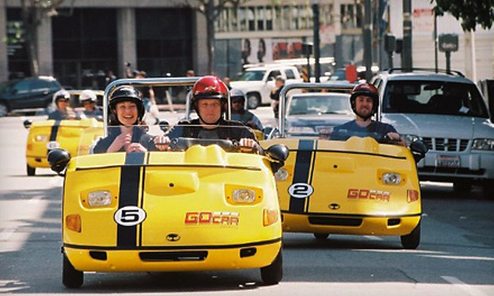 GoCar Rentals - Harborview: $44 for a Two-Hour, Narrated, GPS-Guided Tour from GoCar Tours ($88 Value)