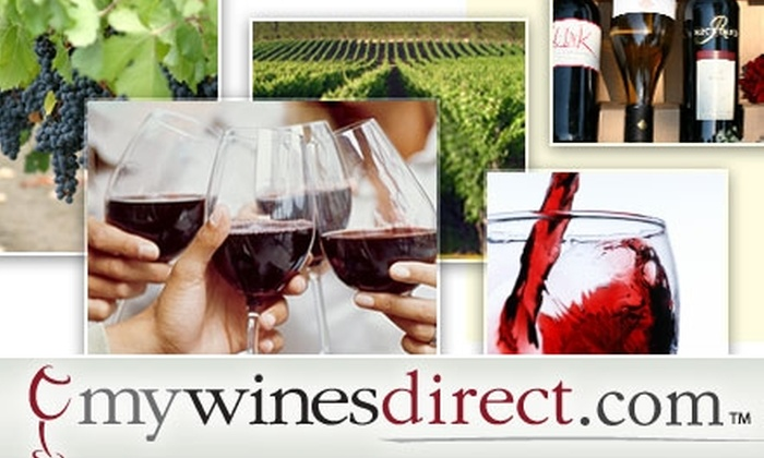 MyWinesDirect.com: $40 for $85 Worth of Wine Shipped Right to Your Door from MyWinesDirect.com