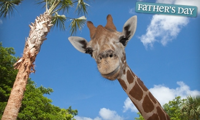 Naples Zoo at Caribbean Gardens - Central Naples: $69 for a One-Year Family Membership to Naples Zoo at Caribbean Gardens (Up to $159 Value)