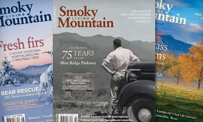 "Smoky Mountain Living - Asheville: $12 for a One-Year Subscription to ""Smoky Mountain Living"" ($25 Value)"