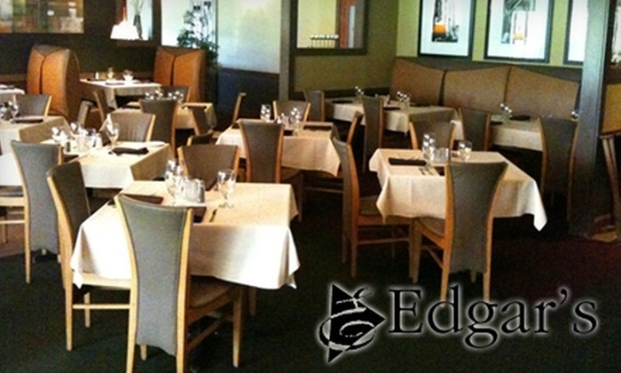 Edgar's Restaurant - West Akron: $20 for $40 Worth of New American Cuisine and Drinks at Edgar's Restaurant