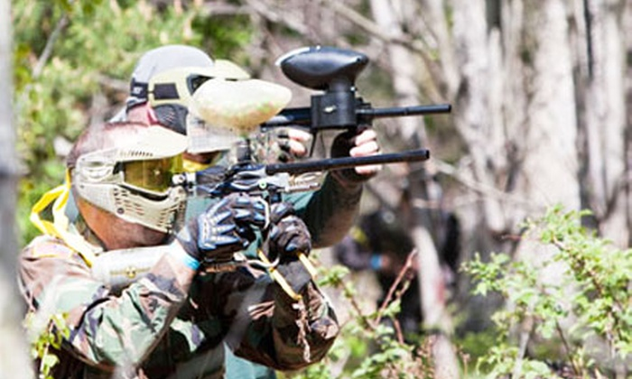 T.C. Paintball Traverse City - Copemish: $25 for All-Day Paintball Outing for Two at T.C. Paintball in Traverse City ($65 Value)