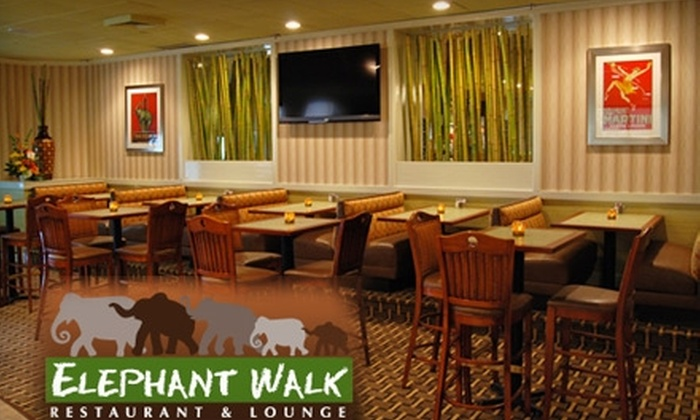 Elephant Walk Restaurant & Lounge - Cave Spring: $9 for $20 Worth of Comfort Fare at Elephant Walk Restaurant & Lounge