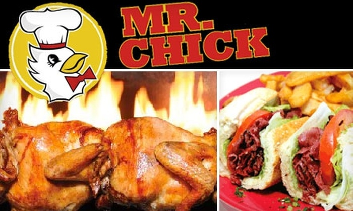 Mr. Chick - Allied Gardens: $9 for $20 Worth of Chicken, Ribs, Sandwiches, and More at Mr. Chick