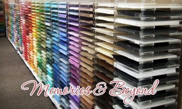 Memories & Beyond - Downers Grove: $20 for $40 Worth of Scrapbooking Supplies and More at Memories & Beyond in Downers Grove