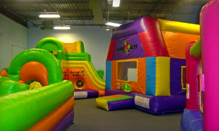 Jump City - Bryant Pattengill East: $20 for Six Pop-N-Play Passes to Jump City ($42 Value)