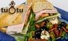 Cafe Tu-O-Tu - Georgetown: $10 for $20 Worth of Mediterranean Fare at Cafe Tu-O-Tu