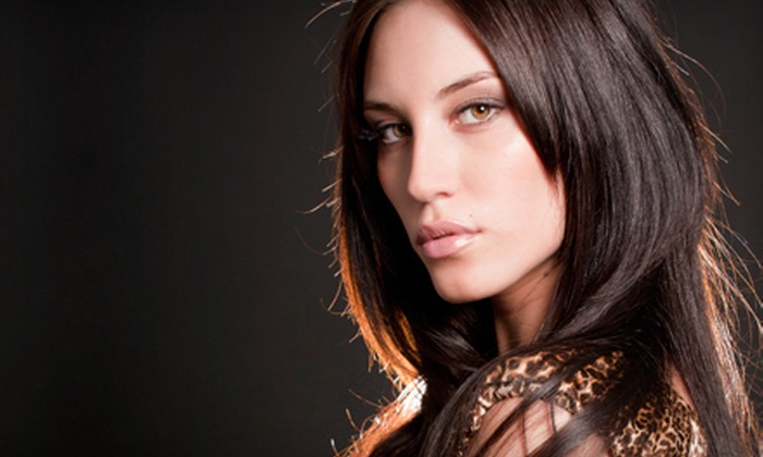 Ziba Beauty Lounge - Carmel: Haircut Package, Coloring Services, or a Keratin-Smoothing Treatment at Ziba Beauty Lounge in Carmel (Up to 72% Off)