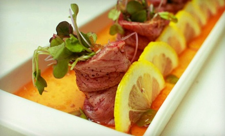 Asian Fusion Tapas and Cocktails for 2 (up to a $63.84 total value) - Pure Lounge in Sunnyvale