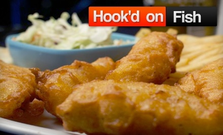 $20 Groupon to Hook'd on Fish - Hook'd on Fish in Encino