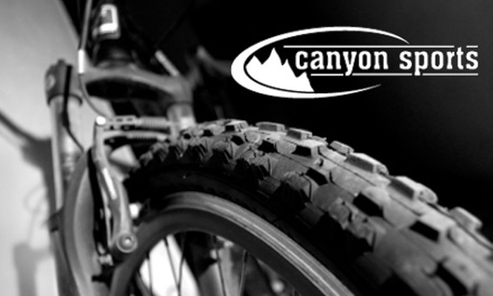Canyon Sports - Multiple Locations: $15 for a Standard Bike Tune-Up at Canyon Sports ($45 Value)