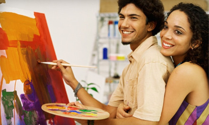 Artist in The Attic - Lawson Ridge: Three-Hour BYOB Painting Classes for Two, Four, or Six at Artist in the Attic (Up to 56% Off)