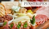 Pinstripes, Inc - Multiple Locations: $20 for $40 Worth of Bowling, Bocce, and Bistro Cuisine or $12 for Brunch ($24 Value) at Pinstripes