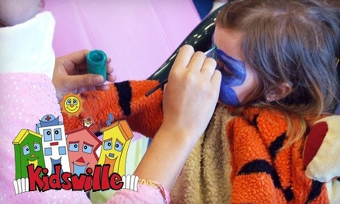 Kidsville Playtown - Carlsbad: $20 for a Five-Admission Punch Card at Kidsville Playtown in Carlsbad