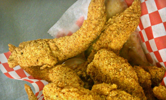 The Original Snappy Catfish - Downtown: Catfish Dinner for Up to Five or $8 for $16 Worth of Seafood and Wings at The Original Snappy Catfish