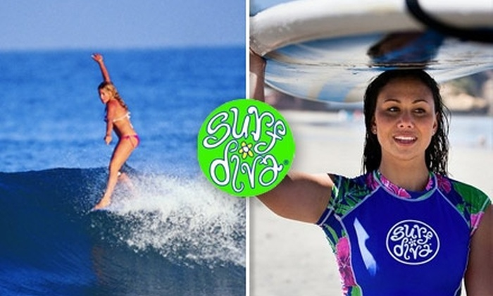 Surf Diva - La Jolla Shores: $89 for a Two-Day Women's Weekend Surf Clinic at Surf Diva (Up to $165 Value)