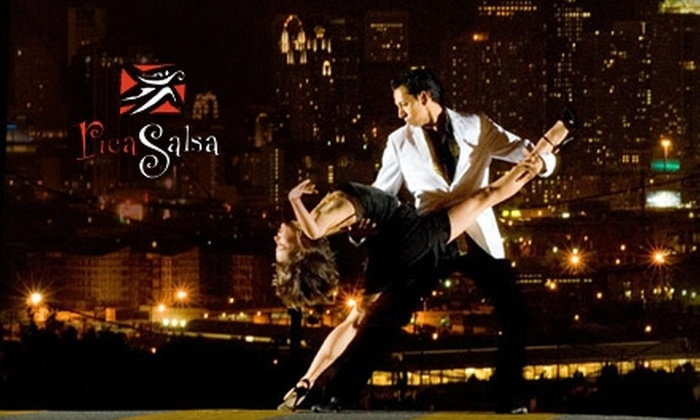 RicaSalsa Dance Company - Multiple Locations: $20 for Four Salsa Lessons at RicaSalsa Dance Company ($40 Value)