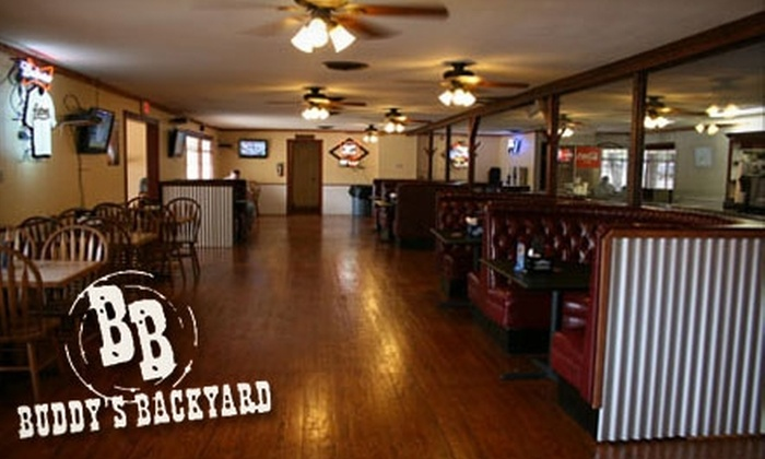 Buddy's Backyard - New Braunfels: $7 for $15 Worth of American Cuisine and Drinks at Buddy's Backyard in New Braunfels