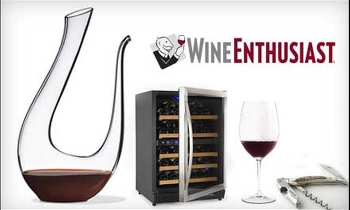 Wine Enthusiast - Mount Kisco: $20 for $40 Worth of Wine Accessories and More from Wine Enthusiast