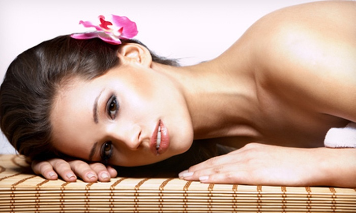 Pure Nature Day Spa - Westfield: 90-Minute Spa Package with Aromatherapy Facial and Choice of Massage for One or Two at Pure Nature Day Spa in Westfield (Up to 61% Off)
