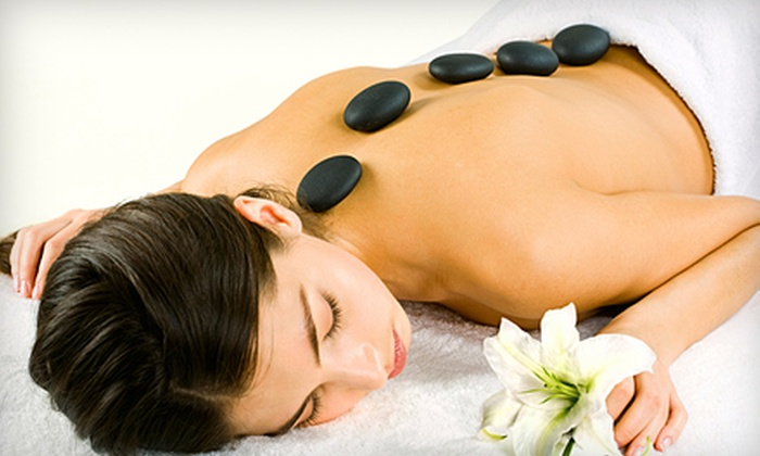 The Spa at Pure Salon - Garner: Mocha Hot-Stone Massage or Medi-Infusion Facial at The Spa at Pure Salon in Garner (Up to 58% Off)