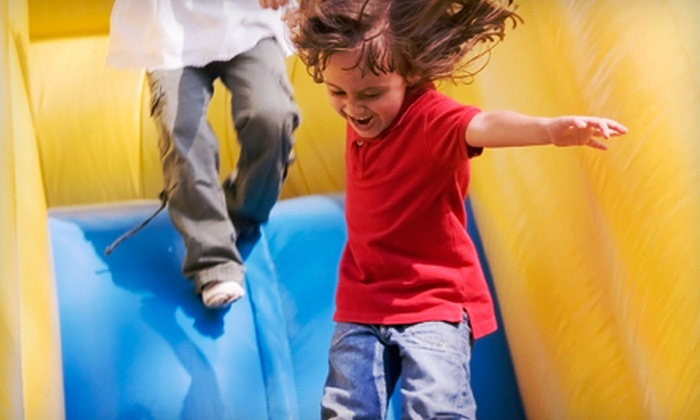 AdventureMania Inflatables - Milton: Rental of Mini Bouncy Castle or Two Carnival Games from AdventureMania Inflatables in Milton (Up to 51% Off)