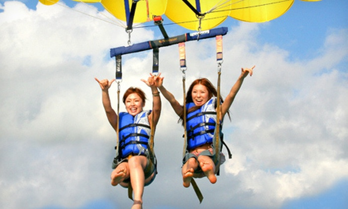 Seabreeze Water Sports - Hawaii Kai: $59 for a Standard Tandem Parasailing Ride from Seabreeze Water Sports ($118 Value)